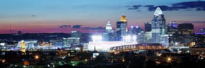 Cincinnati Panorama 3x1 Poster