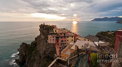Cinque Terre Tranquility Poster