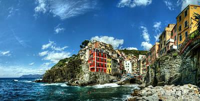 Cinque Terre - View Of Riomaggiore Poster