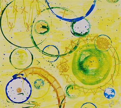 Circle Obsession 3 Poster by Lori Kingston