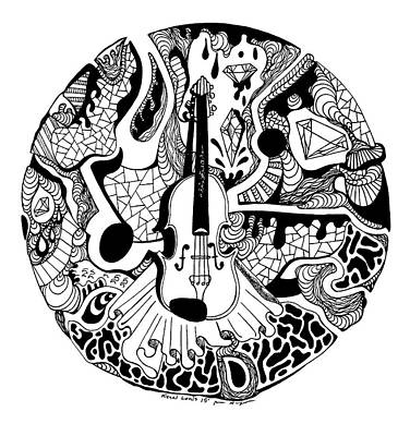 Circle Of Strings Poster
