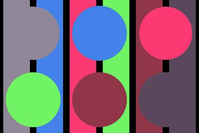 Circle Stripe - Zentao Poster