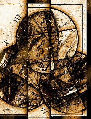 Circleladian Rhythms East Poster by Gary Bodnar