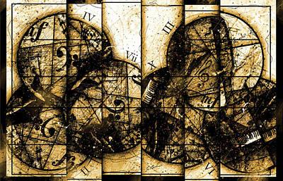 Circleladian Rhythms Poster by Gary Bodnar