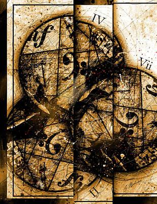 Circleladian Rhythms West Poster by Gary Bodnar