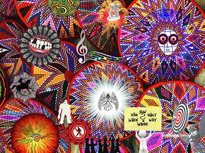 Circles Everywhere Poster
