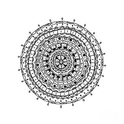 Circles Pattern Poster