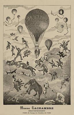 Circus Balloon Poster