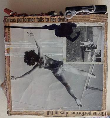 Circus Performer Falls To Her Death Poster