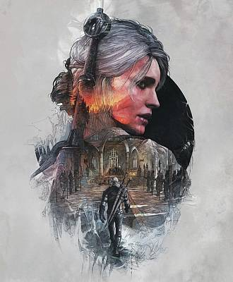 Ciri Poster by Lobito Caulimon
