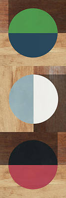 Cirkel Trio- Art By Linda Woods Poster