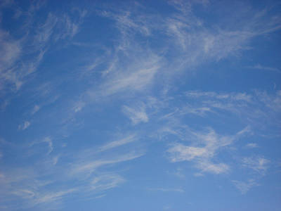 Cirrus Clouds Poster