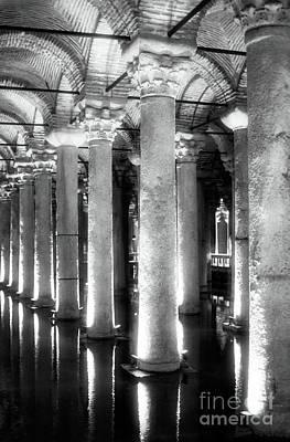 Cistern Columns Poster by John Rizzuto