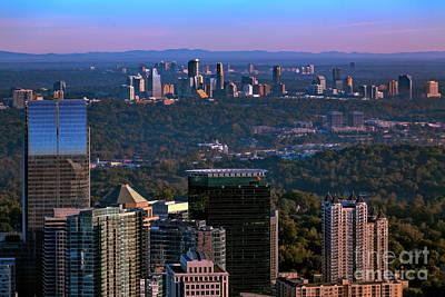 Cities Of Atlanta Poster