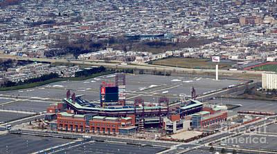 Citizens Bank Park Baseball Stadium In Philadelphia Pennsylvania Poster