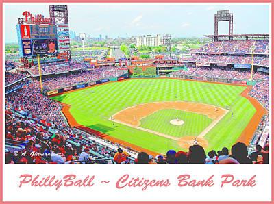 Citizens Bank Park, Philadelphia Poster