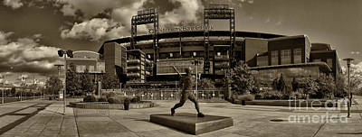 Citizens Park Panoramic Poster by Jack Paolini