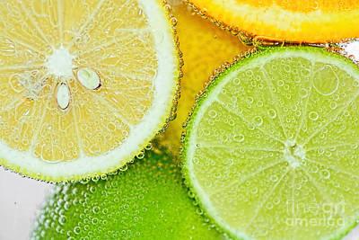 Citrus Fresh By Kaye Menner Poster