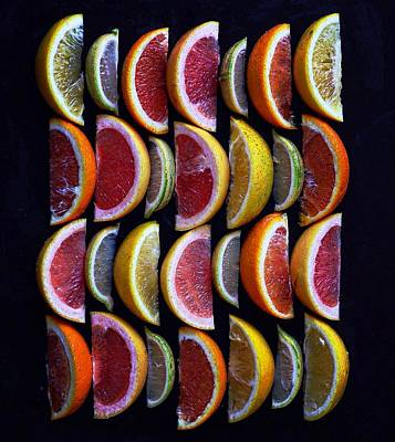 Wavy Citrus Lineage Poster