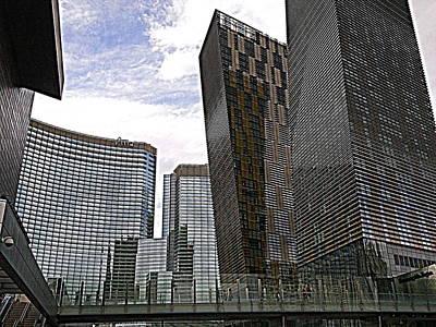 City Center At Las Vegas Poster