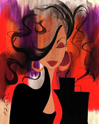 City Chic Poster by Simone Fennell
