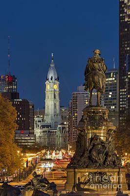 City Hall Philadelphia Poster by John Greim
