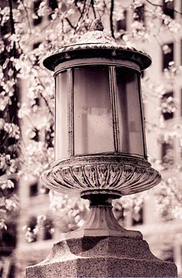 City Lamp Poster