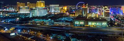 City Lifescape View Las Vegas Poster