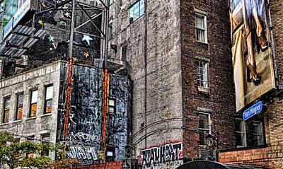 City Scenes Nyc Poster
