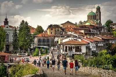 City - Veliko Tarnovo Bulgaria Europe Poster