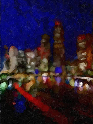 Cityscape Poster by Kathie Miller