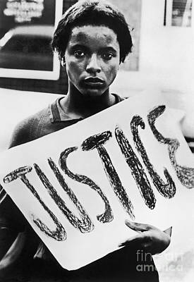 Poster featuring the photograph Civil Rights, 1961 by Granger