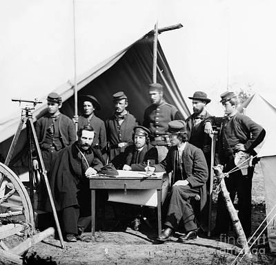 Civil War: Engineers, 1862 Poster by Granger