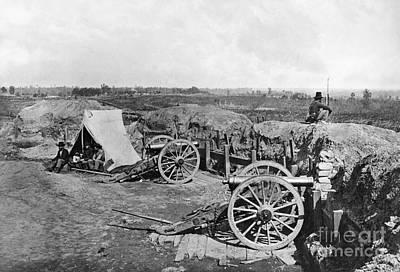 Civil War: Fortifications Poster