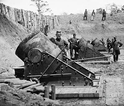 Civil War: Union Mortars Poster by Granger