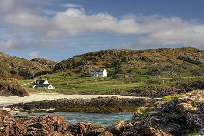 Clachtoll Beach Poster