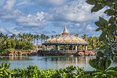 Clamshell Routundra - Atlantis Resort- Bahamas Poster