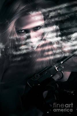 Clandestine Secret Agent Poster