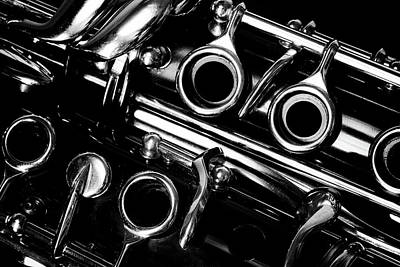 Clarinet Keys Poster by Robert Anastasi