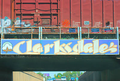 Clarksdale Overpass Poster