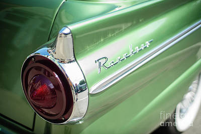 Classic 50s Ford Ranchero Poster by Mike Reid