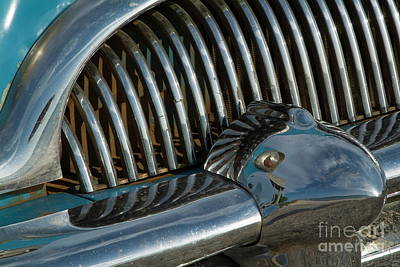 Classic American Car Bumper Poster by Sami Sarkis