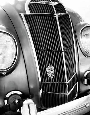 Classic Car Grill 1935 Desoto - Photography Poster by Ann Powell