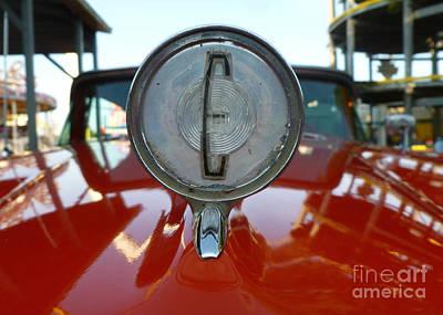 Classic Cars - Edsel Hood Ornament Poster by Jason Freedman
