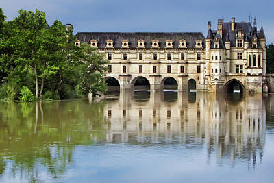 Classic Chenonceau Poster