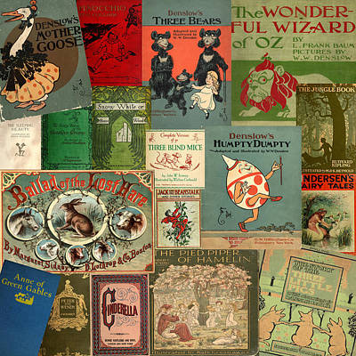 Classic Children's Books Poster