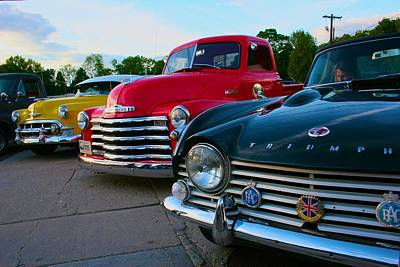 Classic Chrome Bumpers Poster