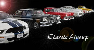 Classic Lineup Poster by David and Lynn Keller