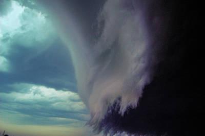 Classic Nebraska Shelf Cloud 029 Poster