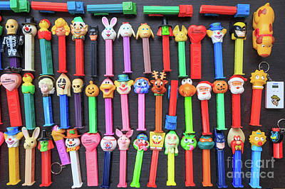 Classic Pez Candy Dispensers  Poster